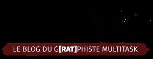 """Logo du blog manteau de sable, blog du rat graphiste pour le studio """"le rat et l'ours""""."""