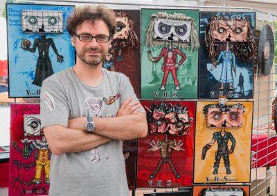 Patrick Massobrio au bloody week end 2017