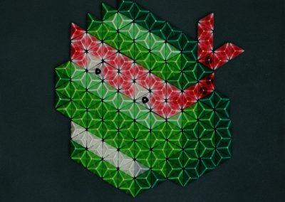 Pixel Icon Raphael des Tortues Ninja de Nan Massobrio
