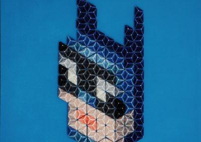 Pixel Icon Batman de Nan Massobrio