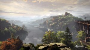 Screenshot de the vanishing of Ethan Carter par the astronauts